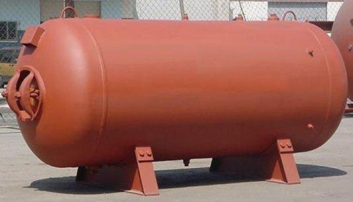 مخازن تحت فشار افقی فولادی